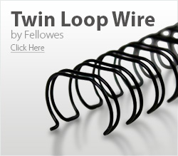 Fellowes Twin Loop Wire