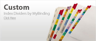 MyBinding Legal Size Index Tabs