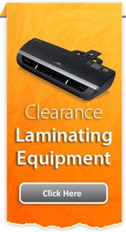 Clearance Laminating Equipment