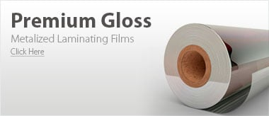 Metalized Gloss Laminating Films