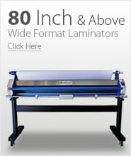 80 Inch and Above Wide Format Laminators